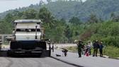 Khuyến cáo không điều khiển phương tiện trên tuyến đường La Sơn - Túy Loan