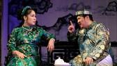 Cảnh trong vở kịch Ngọc Lan trong gió của Sân khấu kịch Hồng Vân