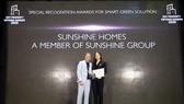 Giải pháp Xanh - Thông minh giúp Sunshine Homes ghi dấu ấn tuyệt đối tại lễ trao giải DOT Property Vietnam Awards 2020