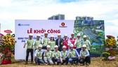 Tập đoàn Xây dựng Hòa Bình khởi công Khu Thấp tầng Vinhomes River Park Phân khu OASIS - Khu C (C19-C40)