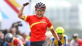 Tay đua Nguyễn Thị Thật đang là nhà đương kim vô địch châu Á. Ảnh: PHƯƠNG MINH