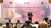Toàn cảnh Hội nghị thượng đỉnh kinh doanh Việt Nam - Hoa Kỳ. Ảnh: VGP