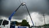Ngành điện triển khai biện pháp ứng phó với thời tiết xấu