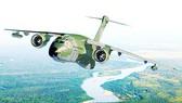 Máy bay vận tải quân sự động cơ hybrid