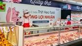 Nhiều siêu thị bán thịt heo không lợi nhuận