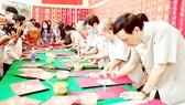 Chương trình Thư pháp từ thiện xuân Tân Sửu 2021, tại Hội quán Hải Nam