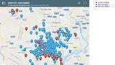 """""""Bản đồ ngoại kiểm"""" tích hợp trên trang thông tin điện tử của Trung tâm Kiểm chuẩn Xét nghiệm TPHCM"""