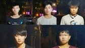 5 người Trung Quốc nhập cảnh trái phép vào Việt Nam bị bắt giữ. Ảnh: Công an cung cấp