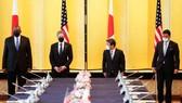 Các quan chức Nhật Bản và Mỹ tại buổi đối thoại. Ảnh: Japan Times