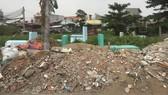 Chậm di dời nghĩa địa khỏi khu dân cư