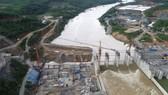 Dự án Thủy điện Sông Tranh 4. Ảnh: hado