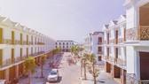 Do cung không đủ cầu, nhiều dự án đất nền, nhà phố xây sẵn ở Bình Dương vừa tung ra thị trường đã cháy hàng. Trong ảnh là dự án Nhà phố liên kế Cité D'amour