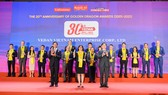 Vedan Việt Nam đón nhận giải thưởng Rồng Vàng 2020
