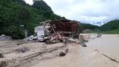 Hiện trường trận lũ quét kinh hoàng xảy ra tại bản Sa Ná (xã Na Mèo, huyện Quan Sơn, Thanh Hóa) tháng 8-2019