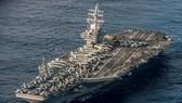 Tàu sân bay USS Ronald Reagan của Hải quân Mỹ. Ảnh: REUTERS