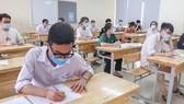 Thí sinh tham dự Kỳ thi tốt nghiệp THPT 2021, đợt 1. Ảnh: QUANG PHÚC