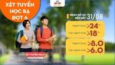 Trường ĐH Công nghệ Miền Đông nhận hồ sơ xét tuyển học bạ đợt 6 đến ngày 31-8: từ 18- 24 điểm