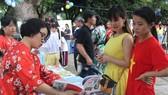 Nhộn nhịp ngày hội sách Nhật Bản giữa lòng thành phố biển Vũng Tàu