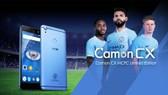 Chiếc điện thoại Camon CX phiên bản giới hạn Manchester City