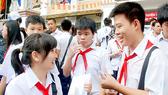 Học sinh Hà Nội thi vào Trường THPT Chu Văn An