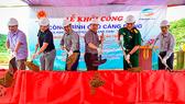 Khởi công xây dựng cầu dân sinh Cáng Dông