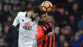 Bournemouth (15) - Watford (10): Bất phân thắng bại