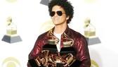 Bruno Mars đại thắng tại Grammy 2018. Ảnh: REUTERS