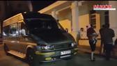 Cháu T.M.H. bị bắt đưa lên xe khách BKS 47B-012.50
