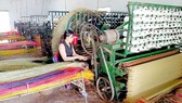 Nghề dệt chiếu lác tại Đức Mỹ tạo nhiều việc làm cho lao động nông thôn