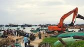 Bão số 1 đánh chìm nhiều tàu cá ở Thổ Châu