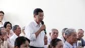 Cử tri quận Ninh Kiều, TP Cần Thơ đề đạt ý kiến, kiến nghị đến Đại biểu Quốc hội