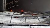 Toàn cảnh hiện trường xưởng may 10.000 m² bị thiêu rụi