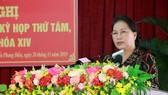 Chủ tịch Quốc hội Nguyễn Thị Kim Ngân: Sẽ có chiến lược để ứng phó với biến đổi khí hậu