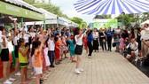 Ngày hội Thiếu nhi tham gia bảo vệ môi trường đã thu hút hàng ngàn thiếu nhi tham gia