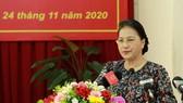 Chủ tịch Quốc hội Nguyễn Thị Kim Ngân trả lời ý kiến cử tri