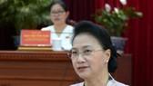 Chủ tịch Quốc hội Nguyễn Thị Kim Ngân làm việc với lãnh đạo TP Cần Thơ