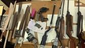 Sóc Trăng thu hồi 485 vũ khí và hơn 3.400 viên đạn