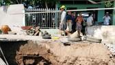 Sóc Trăng công bố tình huống khẩn cấp sạt lở các cồn trên sông Hậu