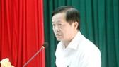 Ông Lê Văn Sơn, Chủ tịch UBND quận Cẩm Lệ. Ảnh: UBND quận Cẩm Lệ