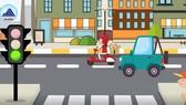 Đà Nẵng phát hành video clip đồ họa hướng dẫn học sinh tham gia giao thông an toàn
