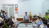Bộ trưởng Bộ GTVT Nguyễn Văn Thể họp khẩn sau vụ lật xe chở sinh viên trên đèo Hải Vân