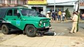 Xe U-oát của khu du lịch Lang Biang tông chết người