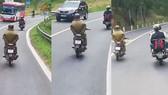 Xử lý nam thanh niên buông cả 2 tay khi điều khiển xe máy đổ đèo Prenn - Đà Lạt