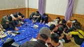 Bắt quả tang 18 thanh niên thuê biệt thự để sử dụng chất ma tuý