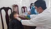 Ngành y tế khám sàng lọc bệnh bạch hầu trên địa bàn huyện Đam Rông, Lâm Đồng