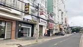 Đường Nguyễn Chí Thanh ngay trung tâm Đà Lạt vắng khách từ sau khi đợt dịch thứ 4 bùng phát
