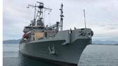 Hai tàu Hải quân Hoa Kỳ cập Cảng quốc tế Cam Ranh
