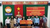 TPHCM tặng nhân dân Khánh Hòa và Phú Yên 600 triệu đồng