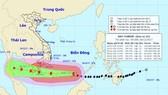 Cho học sinh nghỉ học, sơ tán hơn 1 triệu dân tránh bão Tembin