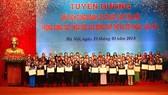 Chủ tịch nước tuyên dương 70 chủ tịch công đoàn cơ sở vì lợi ích người lao động
